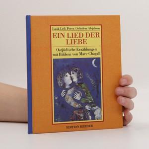 náhled knihy - Ein lied der liebe