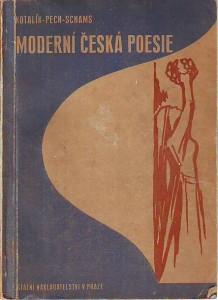 náhled knihy - Moderní česká poesie. Výbor pro osmou třídu středních škol.