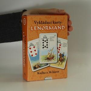 náhled knihy - Lenormand vykládací karty (kniha + 36 karet)