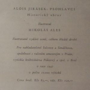 antikvární kniha Psohlavci, 1947