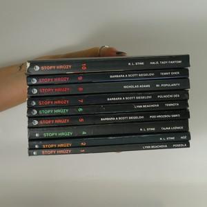 náhled knihy - 9x Stopy hrůzy (1. - 10. díl bez 3., 9 svazků, viz foto)