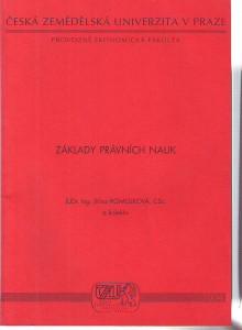 náhled knihy - Základy právních nauk