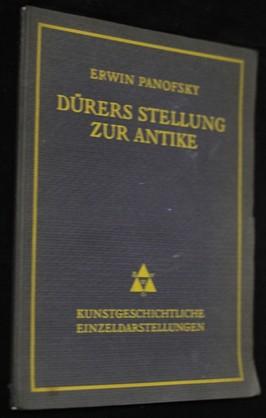 náhled knihy - Dürers stellung zur antike