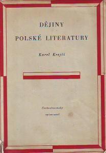 náhled knihy - Dějiny polské literatury