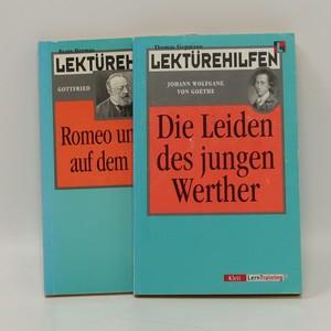 náhled knihy - Die Leiden des jungen Werther, Romeo und Julia auf dem Dorfe (2 svazky)