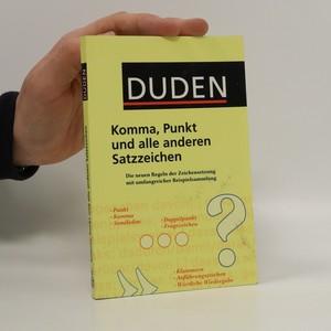 náhled knihy - Komma, Punkt und alle anderen Satzzeichen