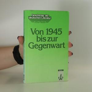 náhled knihy - Von 1945 bis zur Gegenwart