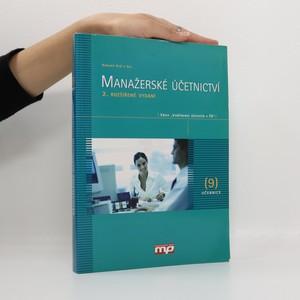 náhled knihy - Manažerské účetnictví
