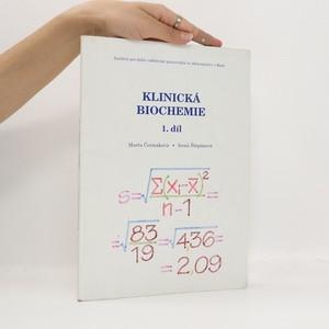 náhled knihy - Klinická biochemie. 1. díl