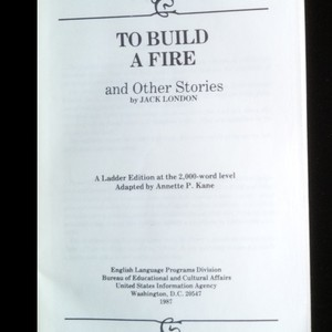 antikvární kniha To build a fire : and other stories (pomačkané rohy), 1987