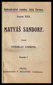 náhled knihy - Matyáš Sandorf I-III.