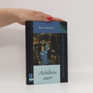 náhled knihy - Achillova smrt : dobrodružství Erasta Fandorina