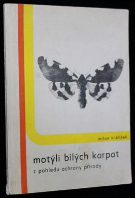 náhled knihy - Motýli Bílých Karpat z pohledu ochrany přírody