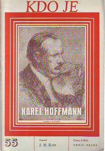 náhled knihy - Kdo je Karel Hoffmann