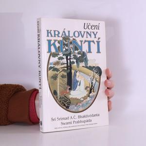 náhled knihy - Učení královny Kuntí