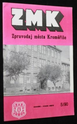 náhled knihy - ZMK : Zpravodaj města Kroměříž