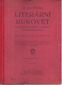 náhled knihy - Literární rukověť pro sedmou třídu českých středních škol