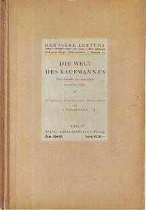 náhled knihy - Die Welt des Kaufmannes