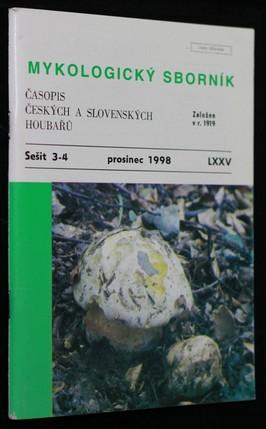 náhled knihy - Mykologický sborník : časopis českých a slovenských houbařů. Sešit 3-4.