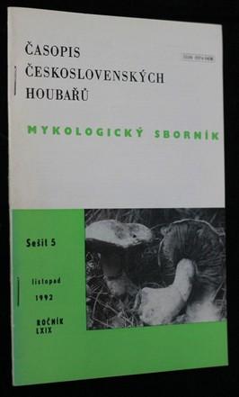 náhled knihy - Mykologický sborník : časopis českých a slovenských houbařů. Sešit 5.