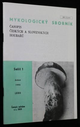 náhled knihy - Mykologický sborník : časopis českých a slovenských houbařů. Sešit 1.