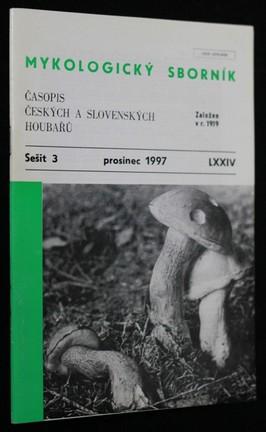 náhled knihy - Mykologický sborník : časopis českých a slovenských houbařů. Sešit 3.