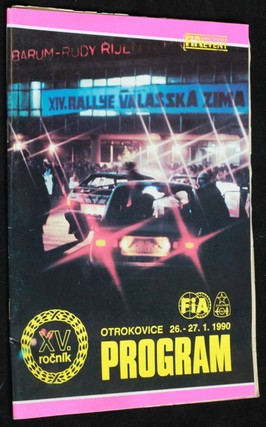 náhled knihy - Barum XV. ročník Otrokovice 26.-27. 1. 1990 program