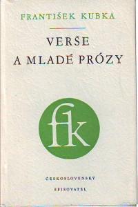 náhled knihy - Verše a mladé prózy