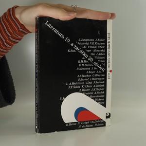 náhled knihy - Literatura 19. a začátku 20. století : učebnice literatury pro 2. ročník středních škol