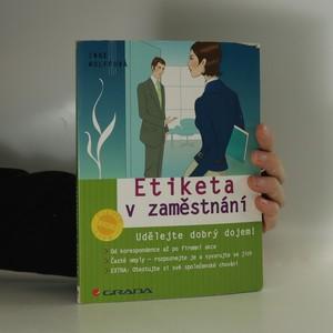 náhled knihy - Etiketa v zaměstnání : udělejte dobrý dojem!
