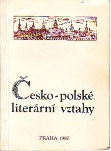 náhled knihy - Česko-polské literární vztahy