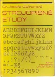 náhled knihy - Strojopisné etudy. Texty k zvýšení zdatnosti v opisu naslepo.