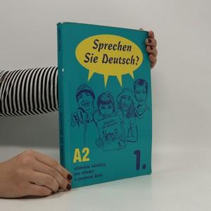 náhled knihy - Sprechen Sie Deutsch ? : učebnice němčiny pro střední a jazykové školy