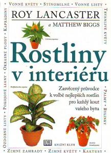 náhled knihy - Rostliny v interiéru