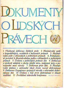 náhled knihy - Dokument o lidských právech