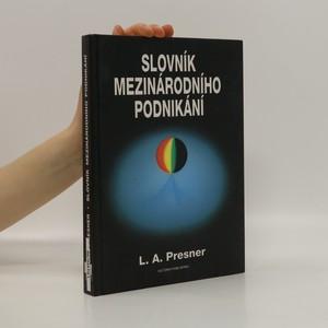 náhled knihy - Slovník mezinárodního podnikání