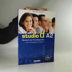 náhled knihy - Studio d A2. Deutsch als Fremdsprache. Kurs-und Ubungsbuch. Teilband 1