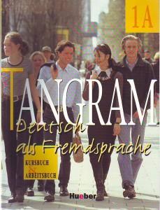 náhled knihy - Tangram. Deutsch als Fremdsprache 1A. Kursbuch & Arbeitsbuch.