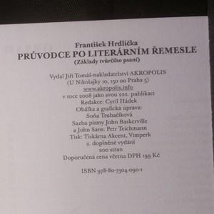 antikvární kniha Průvodce po literárním řemesle : (základy tvůrčího psaní), 2008