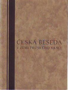náhled knihy - Česká beseda v zemi pruského krále