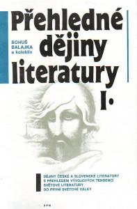 náhled knihy - Přehledné dějiny literatury I-II.