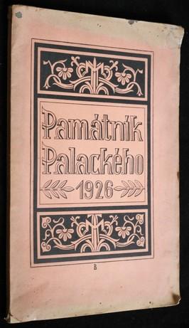 náhled knihy - Památník Palackého