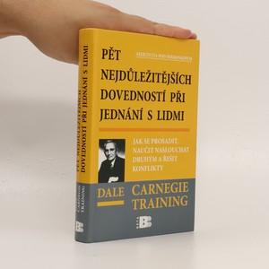náhled knihy - Pět nejdůležitějších dovedností při jednání s lidmi : jak se prosadit, naučit naslouchat druhým a řešit konflikty