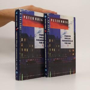 náhled knihy - Froken Smillas fornemmelse for sne 1-2 (dánsky, popsané, 2 svazky)
