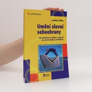 náhled knihy - Umění slovní sebeobrany