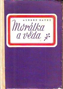 náhled knihy - Morálka a věda
