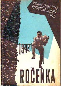 náhled knihy - Ročenka sirotčího spolku členů Národního divadla v Praze. 1942.