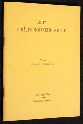 náhled knihy - Listy z dějin rodného kraje (s podpisem)