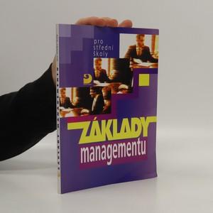 náhled knihy - Základy managementu pro střední školy