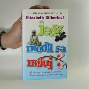náhled knihy - Jedz, modli sa, miluj (slovensky)